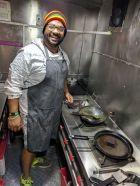 The passionate chef