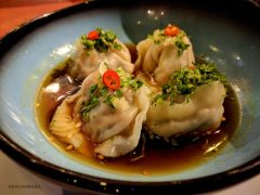 Poached Chicken Dumplings