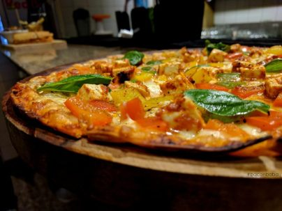 Chettinad Cottage Cheese Pizza