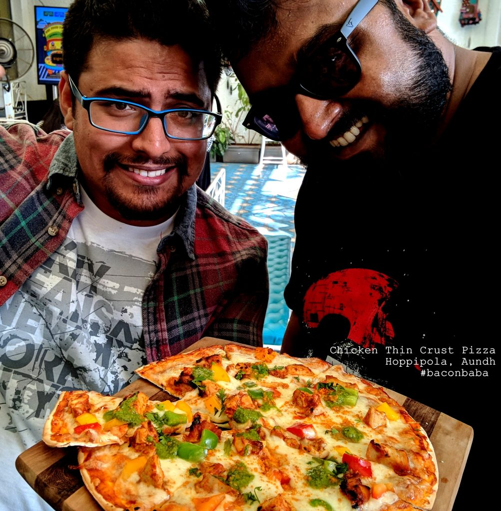 hoppipola baconbaba thebteam chicken pizza