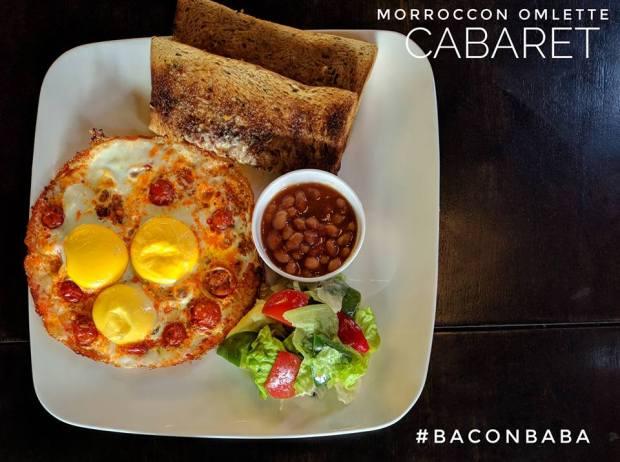 cabaret baner omlette fest moroccon