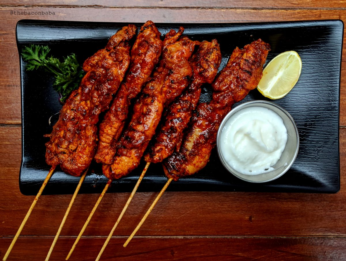 souk baconbaba harissa chicken skewers